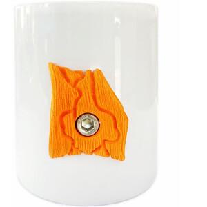 YY VERTICAL Kiipeilymuki, valkoinen/oranssi valkoinen/oranssi