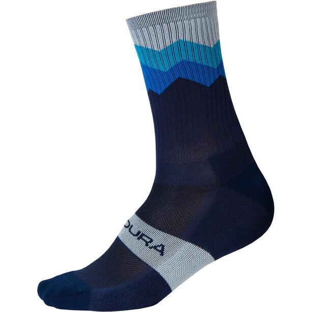 Endura Spikes Socken Herren blau