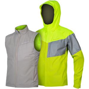 Endura Urban Luminite II 3-in-1 Jacke Herren neon yellow neon yellow