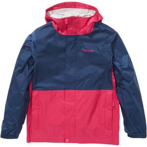 Marmot PreCip Plus Jacket Barn blå/pink blå/pink