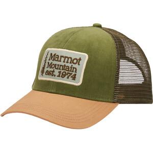 Marmot Retro Trucker Hat grön/beige grön/beige