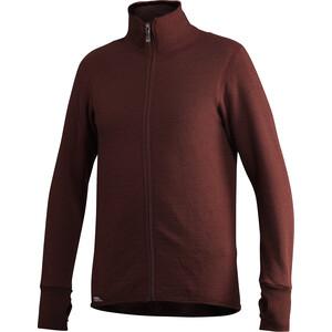 Woolpower 400 Bluza na zamek błyskawiczny, czerwony czerwony