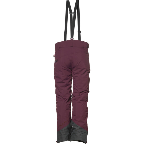 Isbjörn Offpist Ski Pants Youth bordeaux