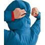 Klättermusen Alv Zipped Hoodie Women blue sapphire