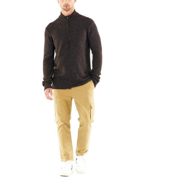Icebreaker Waypoint LS Half-Zip Shirt Men brun