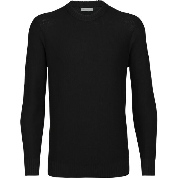 Icebreaker Waypoint Crew Sweater Men black