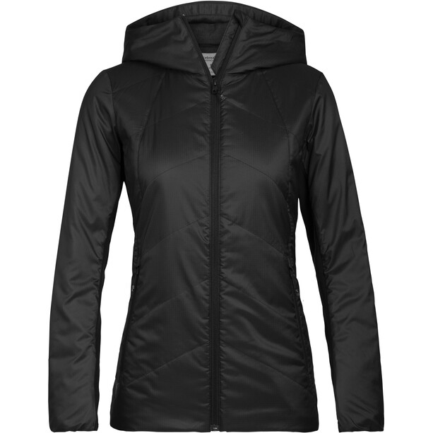 Icebreaker Helix Hooded Jacket Women black