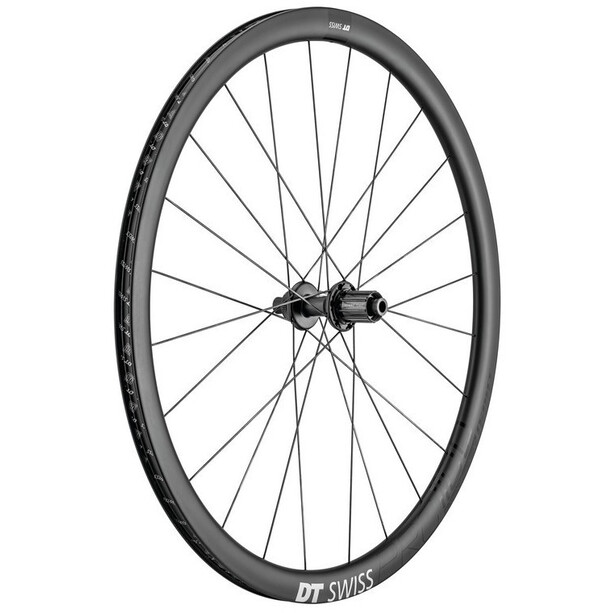 "DT Swiss PRC 1100 Dicut Rear Wheel 28"" Disc CL 142/12mm TA 18mm Shimano 11-speed Light, grå"