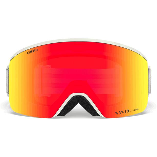 Giro Axis Goggles Herren whiteout/vivid ember/vivid infrared