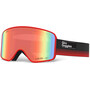 Giro Method Goggles schwarz/rot