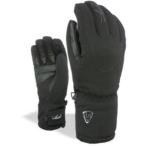 Level Alpine Handschuhe Damen black black
