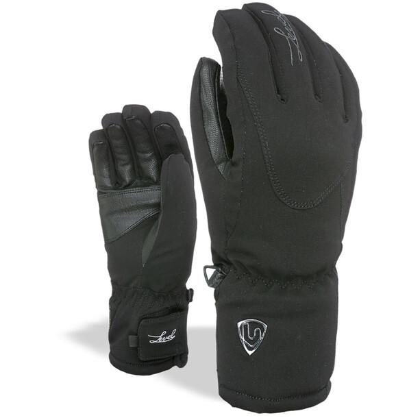Level Alpine Handschuhe Damen black