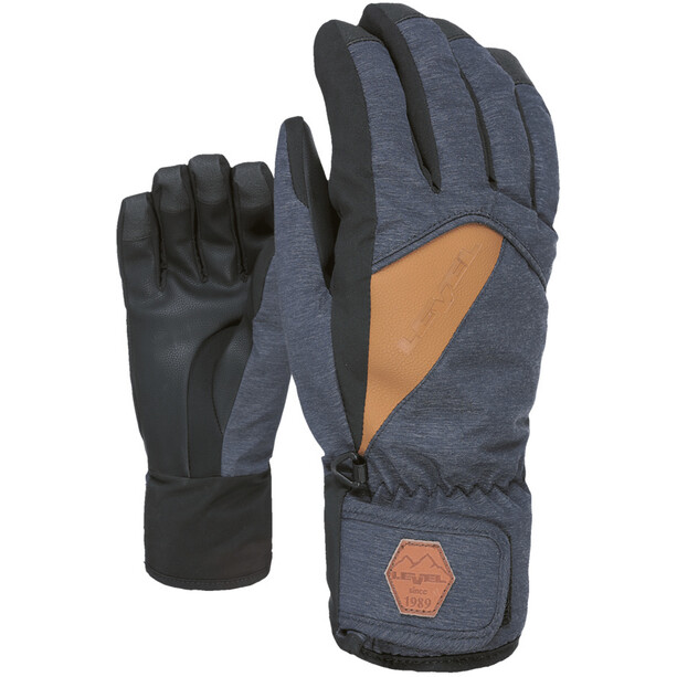 Level Cruise Handschuhe Herren blue-grey