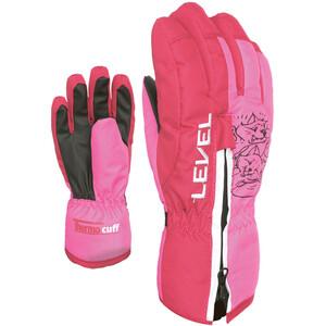 Level Dudy Handschuhe Kinder pink pink