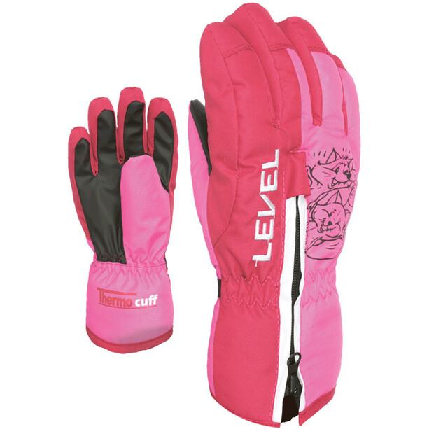 Level Dudy Handschuhe Kinder pink