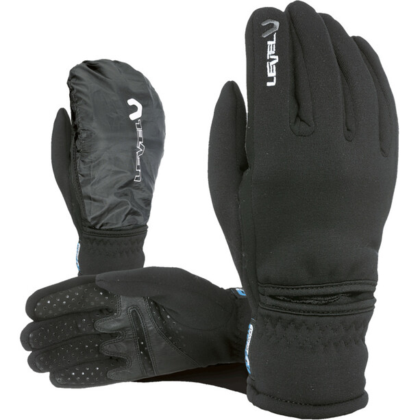 Level Trail I-Touch Polartec Handschuhe Herren dark