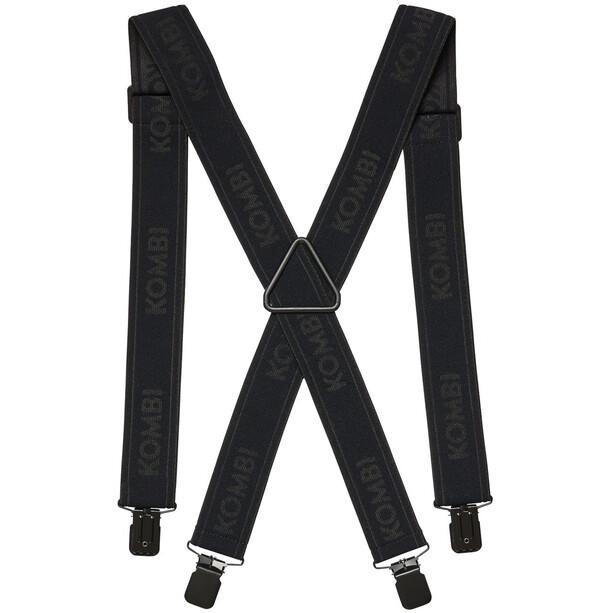 KOMBI Wide Suspenders black