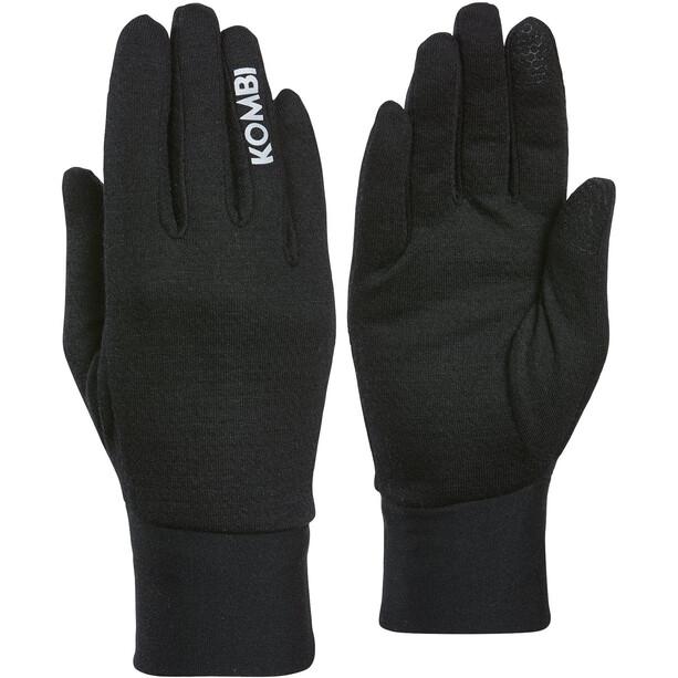 KOMBI P2 Merino Blend Liner Gloves Women black