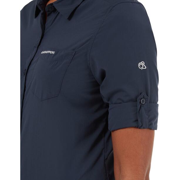 Craghoppers NosiLife Bardo LS Shirt Women blue navy
