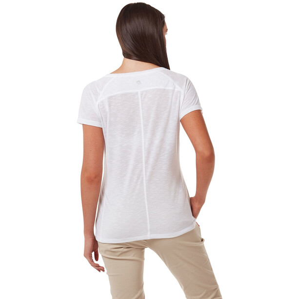Craghoppers NosiLife Galena SS Shirt Women optic white