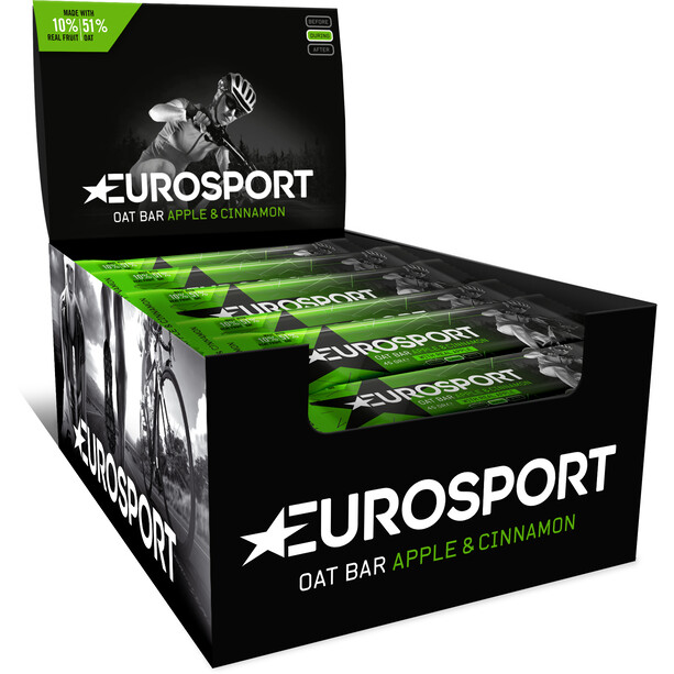Eurosport nutrition Oat Bar Box 20 x 45g apple/cinnamon