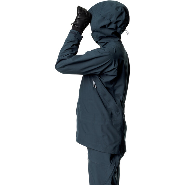 Houdini RollerCoaster Jacket Men blue illusion