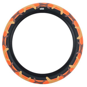 "CULT Vans Waffle BMX Tyre 29x2.10"", orange/noir orange/noir"