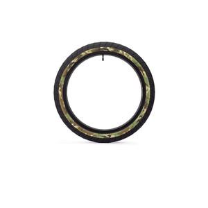"""Eclat Fireball Cubierta BMX 20x2.30"""", negro/Multicolor negro/Multicolor"""