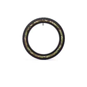 """Eclat Fireball Cubierta BMX 20x2.40"""", negro/Multicolor negro/Multicolor"""