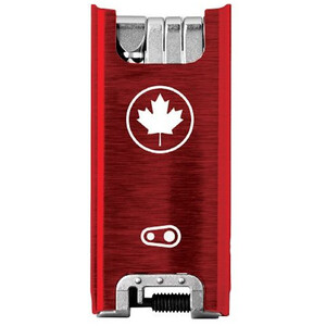 Crankbrothers F15 Canada Edition Multitool red/silver red/silver