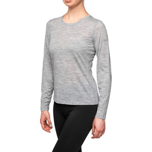 super.natural Base 175 LS Shirt Women, ash melange ash melange
