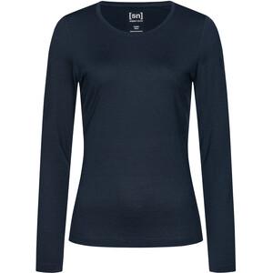 super.natural Base 230 Rundhalsshirt Damen navy blazer navy blazer