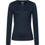 super.natural Base 230 Rundhalsshirt Damen navy blazer