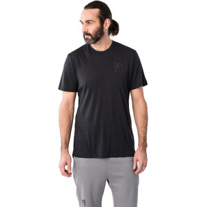 super.natural Active T-Shirt Herren jet black melange jet black melange