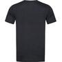 super.natural Signature T-Shirt Herren jet black melange/fresh white