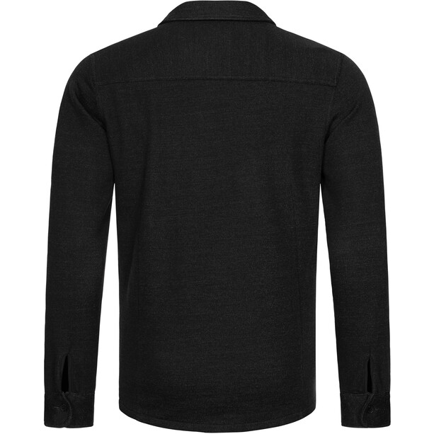 super.natural Knit Jacke Herren jet black