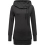super.natural Essential Tunnel Hoodie Women jet black melange