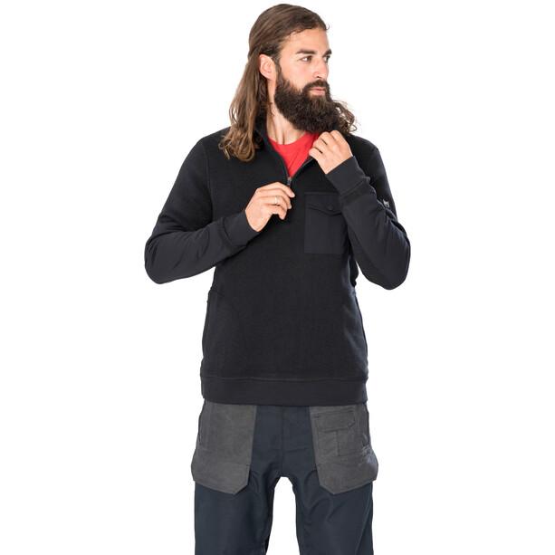 super.natural Compound Quarter Jacket Men jet black