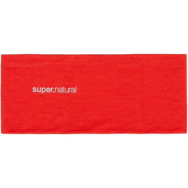 super.natural Wanderlust Headband high risk red