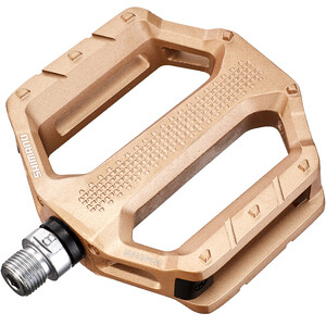 Shimano PD-EF202 Flat Pedals, gold gold