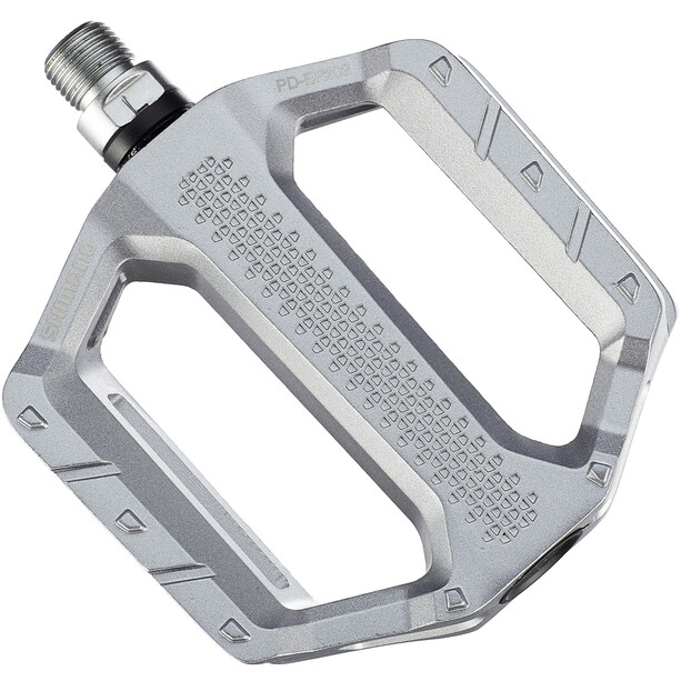 Shimano PD-EF202 Flat Pedals, silver
