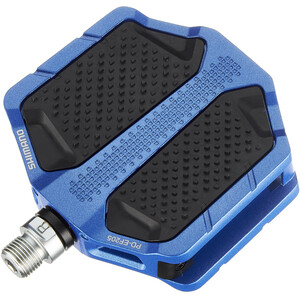Shimano PD-EF205 Flat Pedals, blue blue