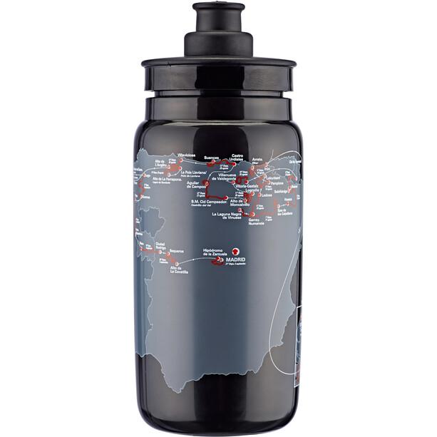 Elite Fly Vuelta Map Trinkflasche 550ml black