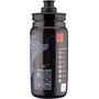 Elite Fly Vuelta Map Drinking Bottle 550ml, noir