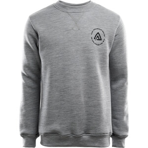 Aclima FleeceWool Crew Neck Sweater Men grey melange grey melange