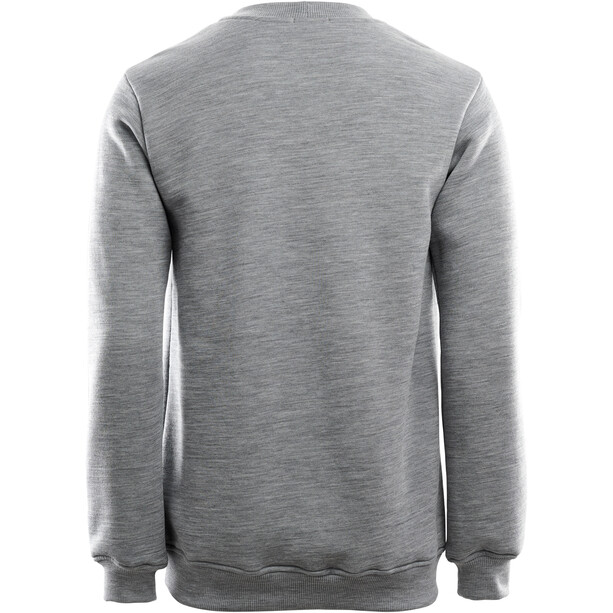 Aclima FleeceWool Crew Neck Sweater Men grey melange