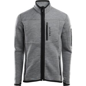 Aclima FleeceWool Jacket Men grey melange grey melange