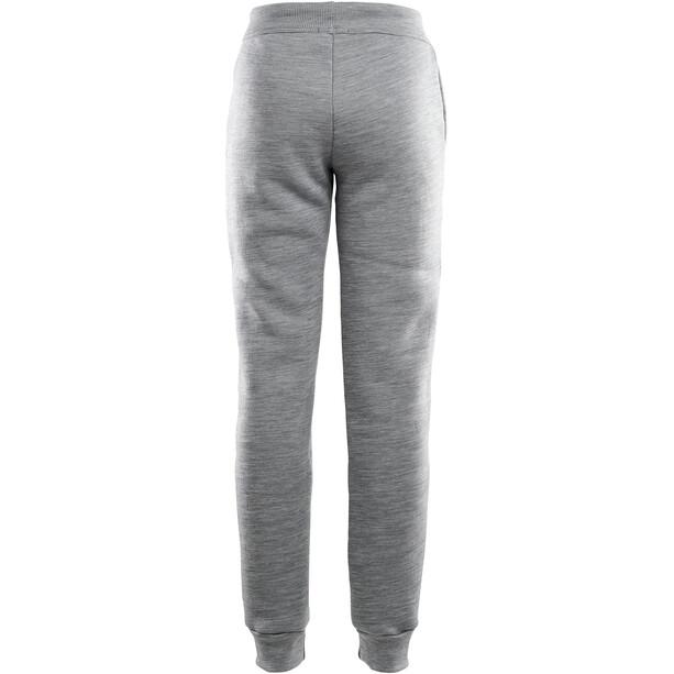 Aclima FleeceWool Joggers Women grey melange
