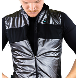 Biehler Defender Gilet Men, chrome chrome