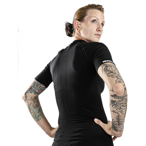 Biehler Seamless Pro Kurzarm Baselayer Damen black black